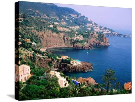 Cote D'Azur Near Nice, Nice, France-Christer Fredriksson-Stretched Canvas Print