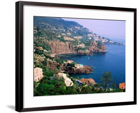 Cote D'Azur Near Nice, Nice, France-Christer Fredriksson-Framed Art Print
