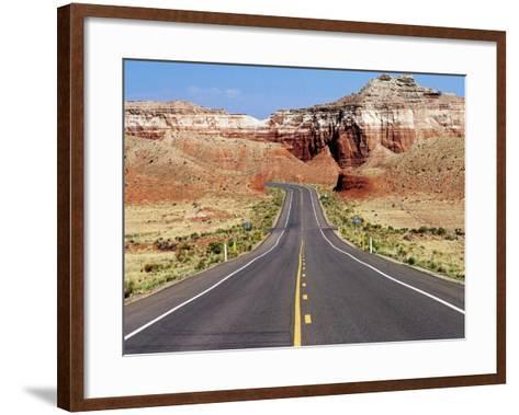 Highway 59, U.S.A.-Oliver Strewe-Framed Art Print