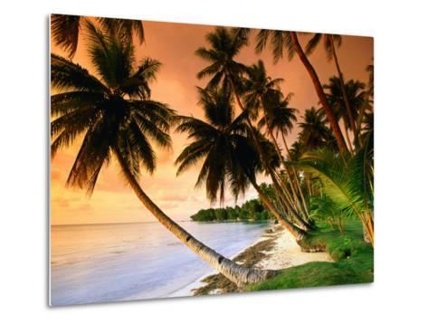 Blue Lagoon Resort Beach, Weno Centre, Micronesia-John Elk III-Metal Print