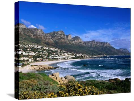 Beach at Camps Bay, Cape Town, South Africa-Ariadne Van Zandbergen-Stretched Canvas Print