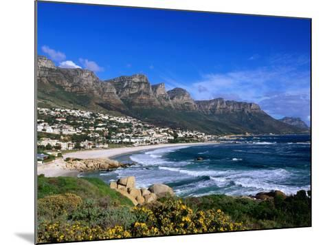 Beach at Camps Bay, Cape Town, South Africa-Ariadne Van Zandbergen-Mounted Photographic Print