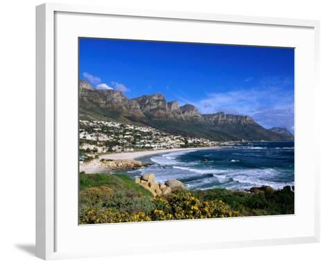 Beach at Camps Bay, Cape Town, South Africa-Ariadne Van Zandbergen-Framed Art Print
