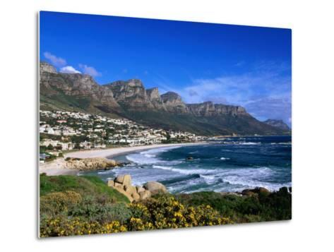 Beach at Camps Bay, Cape Town, South Africa-Ariadne Van Zandbergen-Metal Print