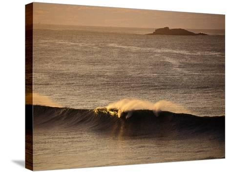 Breaking Wave Near Whiterocks Beach, Antrim, Northern Ireland-Gareth McCormack-Stretched Canvas Print