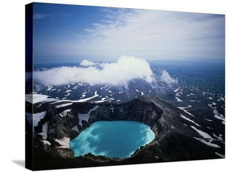 The Kamchatka Peninsula in Siberia, Petropavlovsk-Kamchatsky, Russia-Mark Newman-Stretched Canvas Print