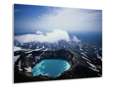 The Kamchatka Peninsula in Siberia, Petropavlovsk-Kamchatsky, Russia-Mark Newman-Metal Print