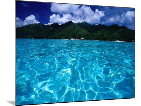 Lagoon in Haapiti, Moorea, the French Polynesia-Paul Kennedy-Mounted Photographic Print
