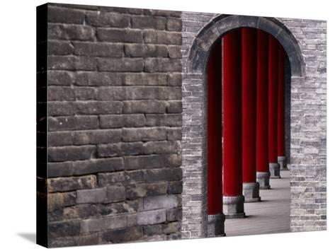 Traditional Architecture of Xianyang Museum, Shaanxi, China-Keren Su-Stretched Canvas Print