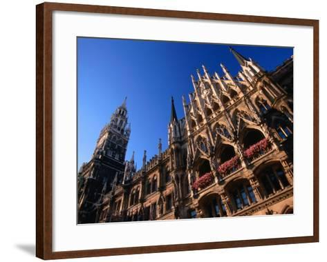 City Hall, Munich, Bavaria, Germany-Thomas Winz-Framed Art Print