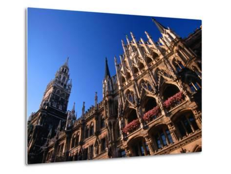 City Hall, Munich, Bavaria, Germany-Thomas Winz-Metal Print