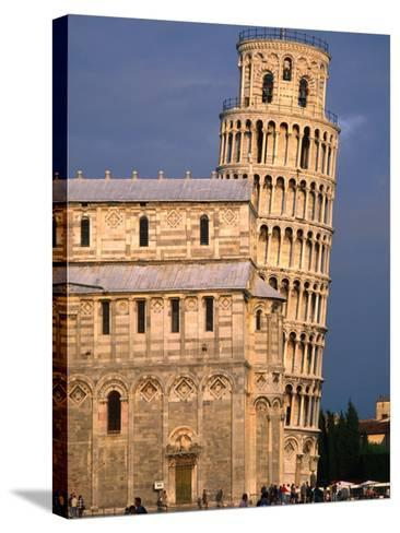 Leaning Tower, Pisa, Italy-John Elk III-Stretched Canvas Print