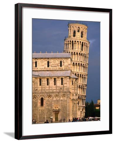 Leaning Tower, Pisa, Italy-John Elk III-Framed Art Print
