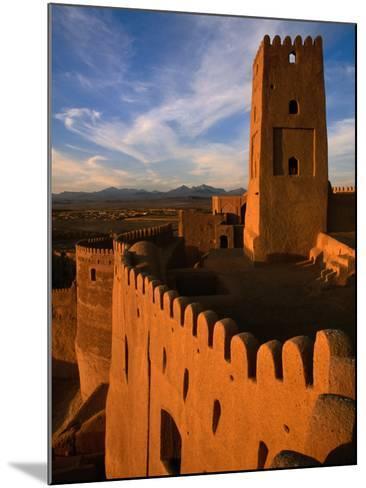 Citadel Tower in 2000 Year Old Arg-E Bam (Bam Citadel), Bam, Kerman, Iran-Mark Daffey-Mounted Photographic Print