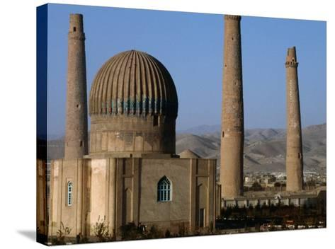 Darulaman Palace (Kings Palace) Home of King Zahir Shah, Herat, Afghanistan-Stephane Victor-Stretched Canvas Print