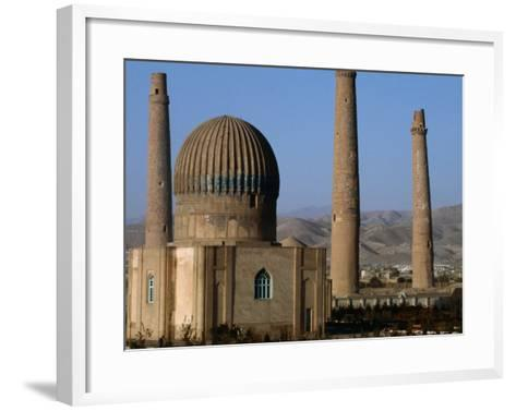 Darulaman Palace (Kings Palace) Home of King Zahir Shah, Herat, Afghanistan-Stephane Victor-Framed Art Print