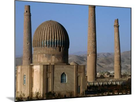 Darulaman Palace (Kings Palace) Home of King Zahir Shah, Herat, Afghanistan-Stephane Victor-Mounted Photographic Print