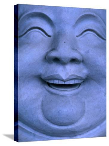 Detail of Buddha statue, Hualien, Taiwan-Martin Moos-Stretched Canvas Print