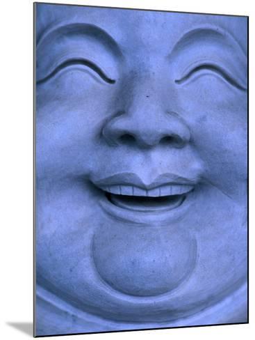 Detail of Buddha statue, Hualien, Taiwan-Martin Moos-Mounted Photographic Print