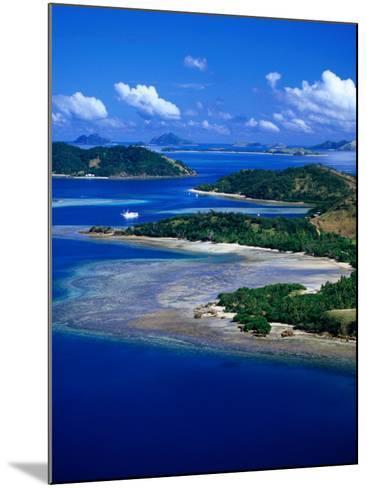 Aerial View of Malolo Island, Fiji-David Wall-Mounted Photographic Print