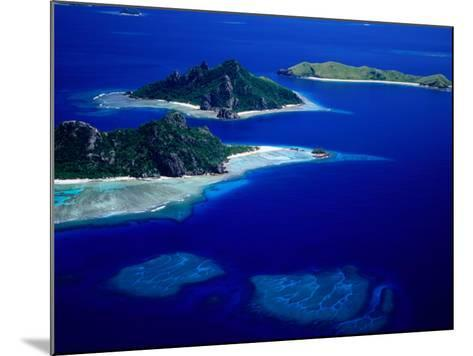 Aerial View of Islands, Fiji-David Wall-Mounted Photographic Print