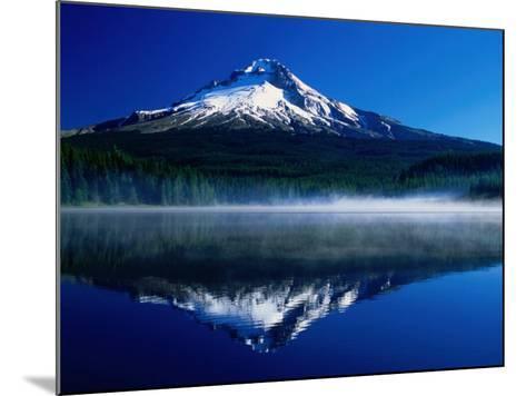 Mt. Hood Over Trilium Lake, Mt. Hood, USA-John Elk III-Mounted Photographic Print