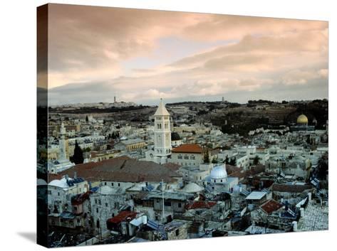 Old City of Jerusalem, Jerusalem, Israel-Izzet Keribar-Stretched Canvas Print
