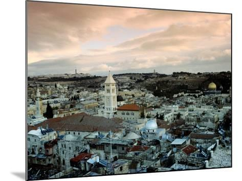 Old City of Jerusalem, Jerusalem, Israel-Izzet Keribar-Mounted Photographic Print