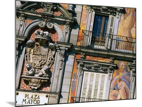 Building Facades in Plaza Mayor, Madrid, Comunidad De Madrid, Spain-Christopher Groenhout-Mounted Photographic Print