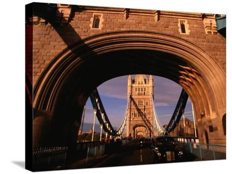 Tower Bridge, London, England-Angus Oborn-Stretched Canvas Print