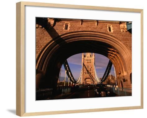 Tower Bridge, London, England-Angus Oborn-Framed Art Print