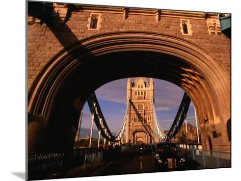 Tower Bridge, London, England-Angus Oborn-Mounted Photographic Print