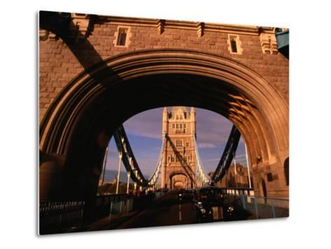 Tower Bridge, London, England-Angus Oborn-Metal Print