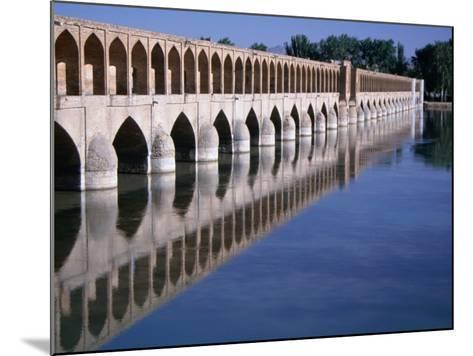 Si-O-Se Bridge, Bridge of 33 Archs, Esfahan, Iran-Simon Richmond-Mounted Photographic Print