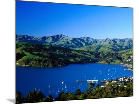 Akaroa Harbour, Banks Peninsula, Canterbury, New Zealand-Paul Kennedy-Mounted Photographic Print