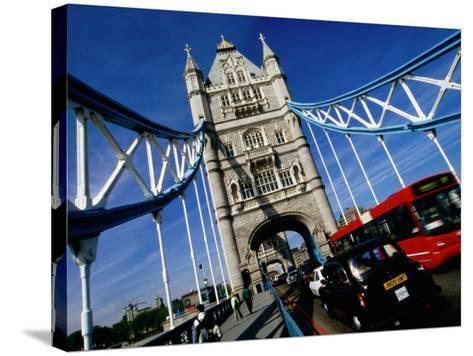 Tower Bridge, London, United Kingdom-Martin Moos-Stretched Canvas Print