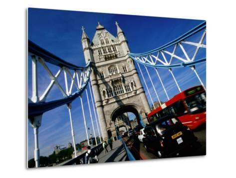Tower Bridge, London, United Kingdom-Martin Moos-Metal Print