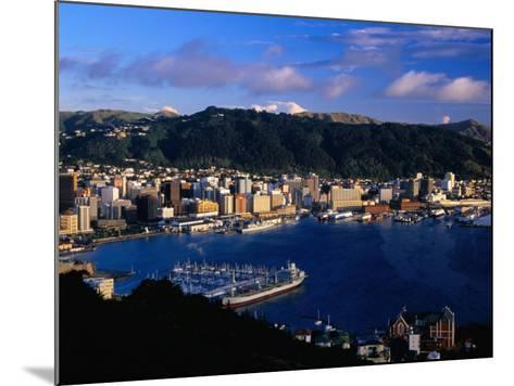 Wellington Harbour, Wellington, Wellington, New Zealand-David Wall-Mounted Photographic Print