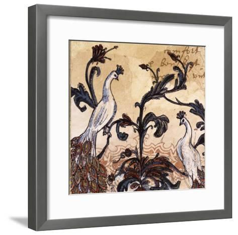 Paisley II-Susan Gillette-Framed Art Print
