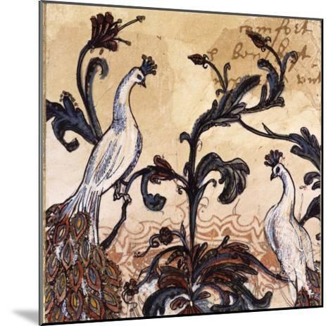 Paisley II-Susan Gillette-Mounted Premium Giclee Print