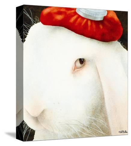 Even My Hare Hurts-Will Bullas-Stretched Canvas Print