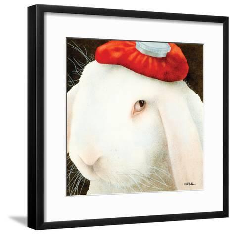 Even My Hare Hurts-Will Bullas-Framed Art Print