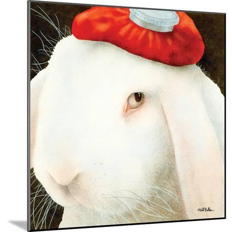Even My Hare Hurts-Will Bullas-Mounted Premium Giclee Print