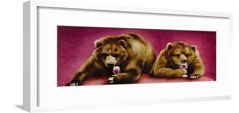 Wine Bars-Will Bullas-Framed Art Print