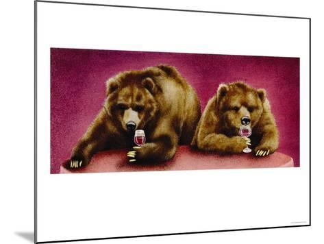 Wine Bars-Will Bullas-Mounted Premium Giclee Print
