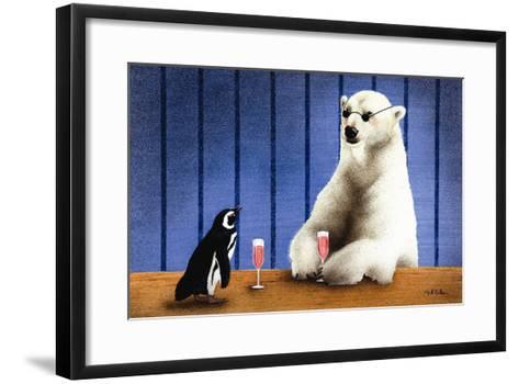 The Wine Bars-Will Bullas-Framed Art Print