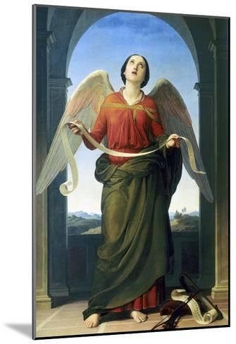 Sacred Music, Accademia Gallery, Florence-Luigi Mussini-Mounted Giclee Print