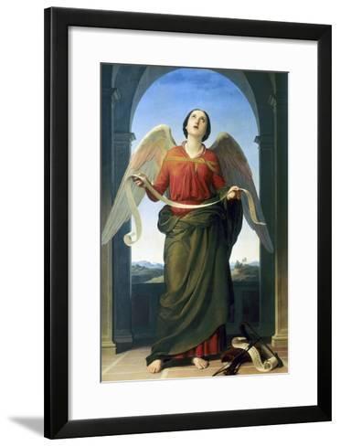 Sacred Music, Accademia Gallery, Florence-Luigi Mussini-Framed Art Print