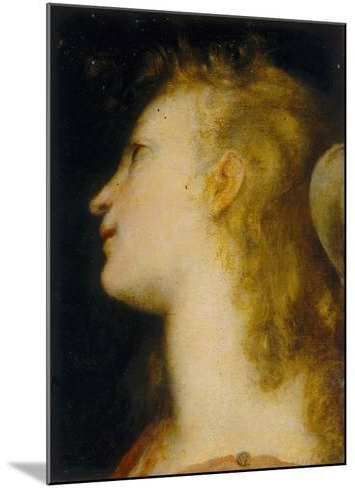 Angel's Head, Palatine Gallery, Palazzo Pitti, Florence-Federico Barocci-Mounted Giclee Print