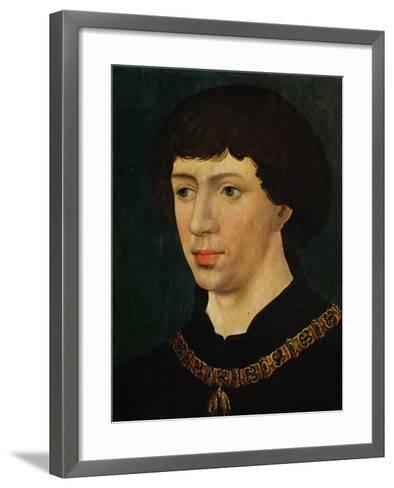Charles the Bold, Duke of Burgundy (1433-1477)-Rogier van der Weyden-Framed Art Print